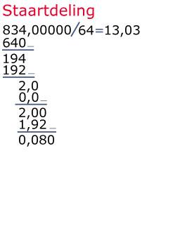 handig met getallen